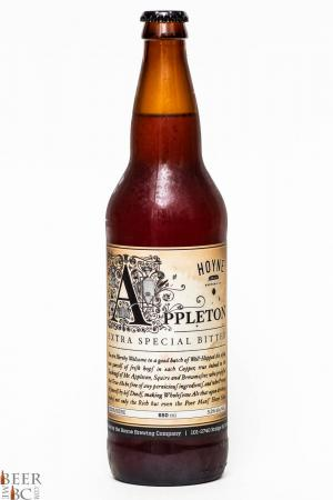 Hoyne Brewing Co. - Appleton  Extra Special Bitter Review