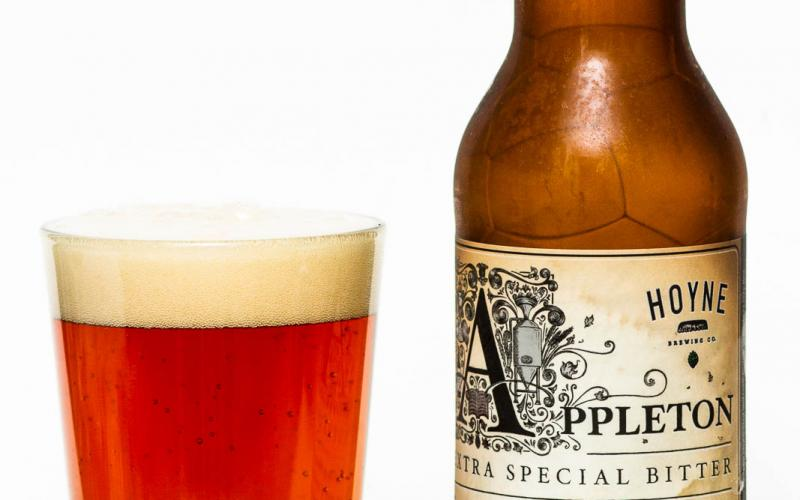 Hoyne Brewing Co. – Appleton Extra Special Bitter