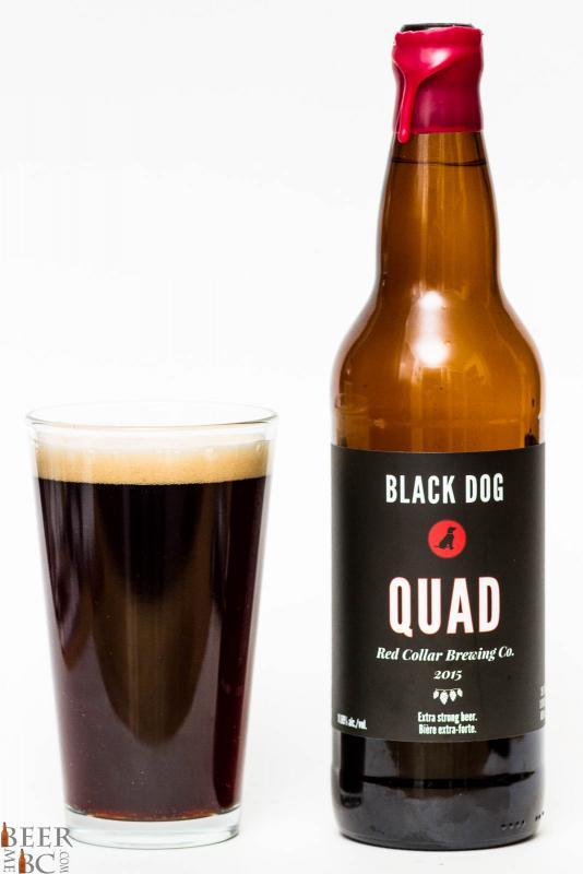 Red Collar Brewing - Black Dog Quad