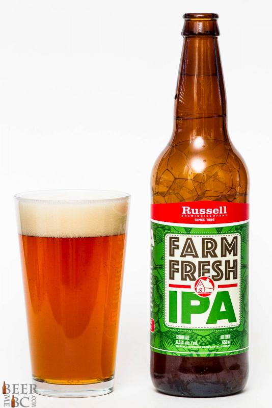 Russell Brewing Farm Fresh IPA Review