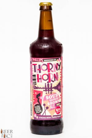 Phillips Brewing Thorny Horn Raspberry Sour Brown Ale Review