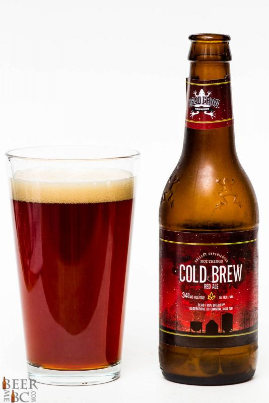Dead Frog Brewery - Cold Brew Red Ale Review