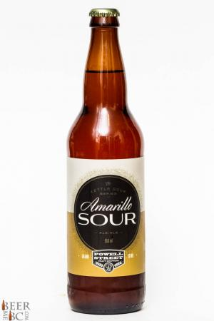 Powell Street Craft Brewery Amarillo Sour Ale