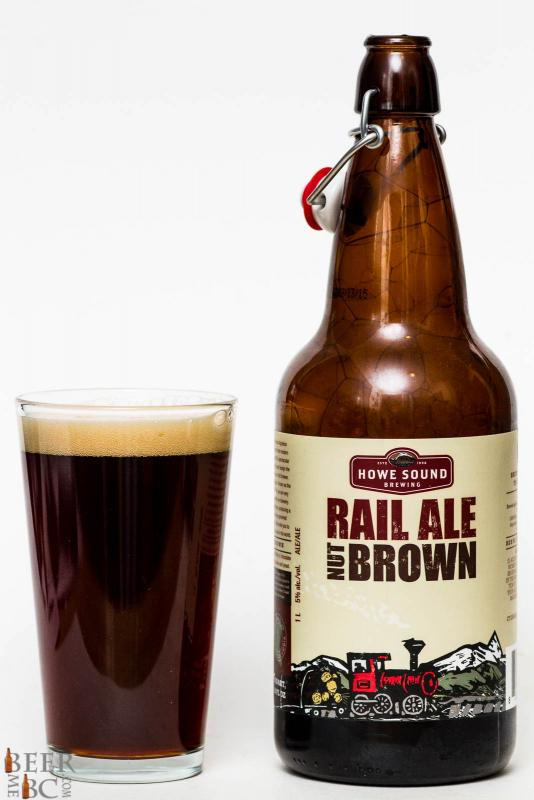 Howe Sound Brewing Rail Ale Nut Brown Review