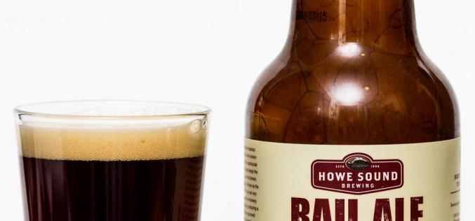 Howe Sound Brewing Co. – Rail Ale Nut Brown Ale