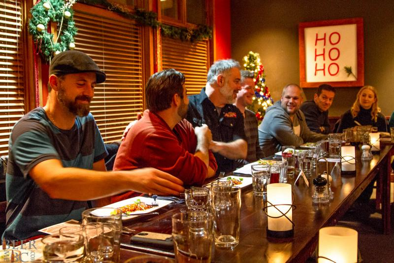 Howe Sound Beer Pairing Dinner