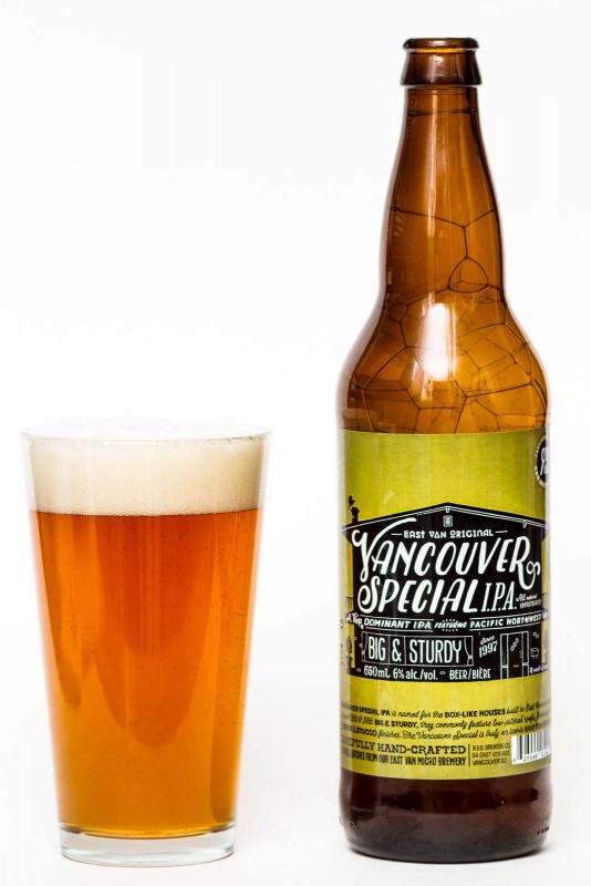 R&B Brewing Vancouver Special IPA Review