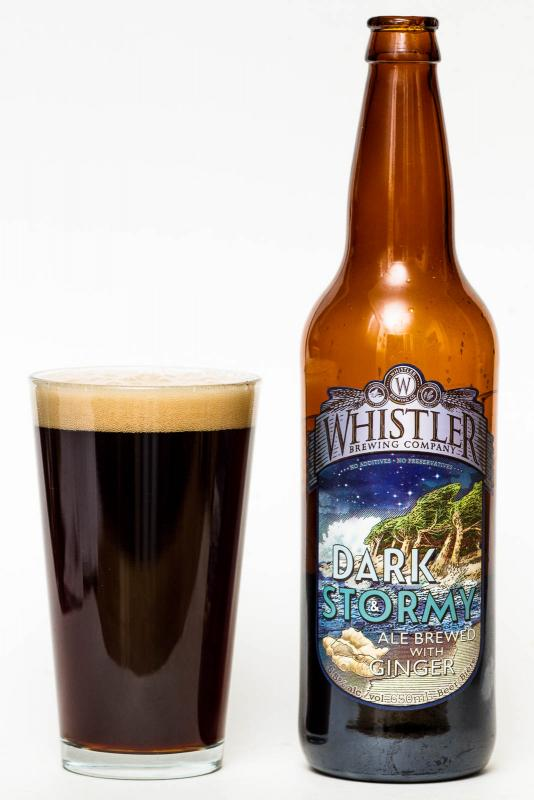 Whistler Brewing Dark And Stormy Review