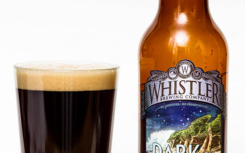 Whistler Brewing Co. – Dark & Stormy Ale