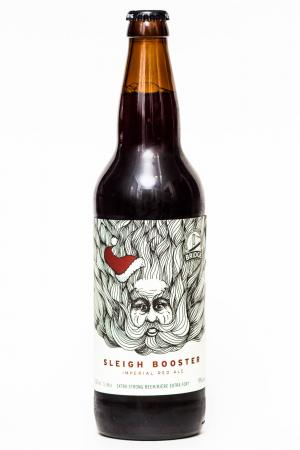 Bridge Brewing Sleigh Booster Imperial Red Ale Review