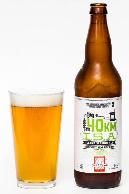 Longwood Brewery 40km Fresh Hop ISA Review