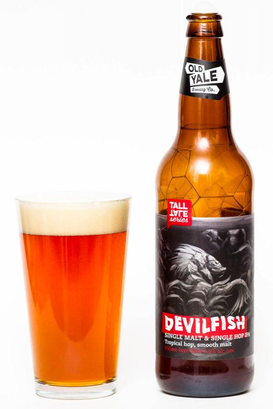 Old Yale Brewing Devilfish IPA Review