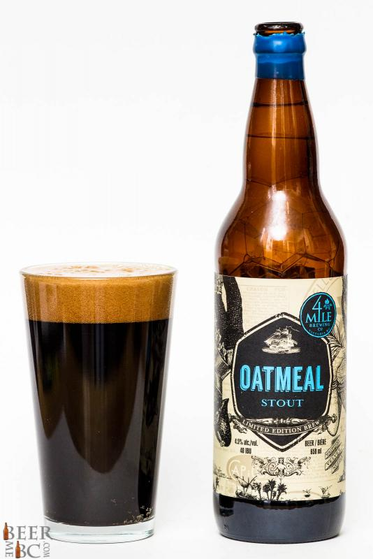 4 Mile Brewing Oatmeal Stout Review