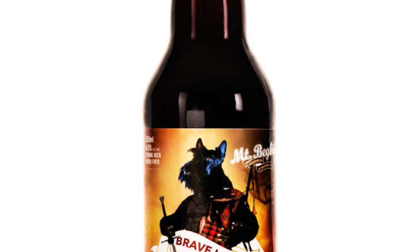 Brave Liver Scotch Ale Comes from Mt Begbie Brewing