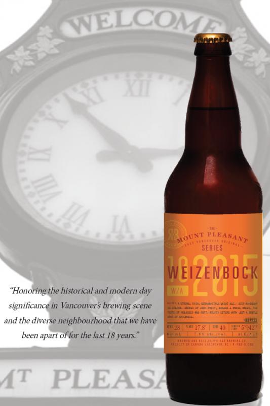 R&B Brewing Weizenbock Release