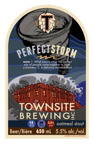 Townsite Brewing Perfect Storm Release