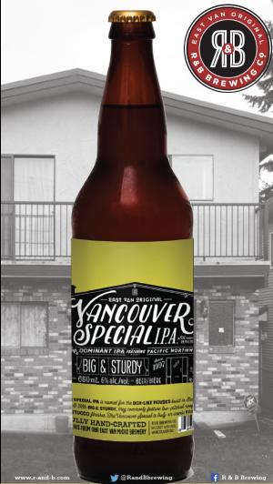 R&B Brewing Vancouver Special IPA