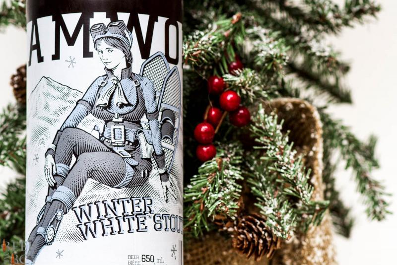 Steamworks Winter White Stout Press Release