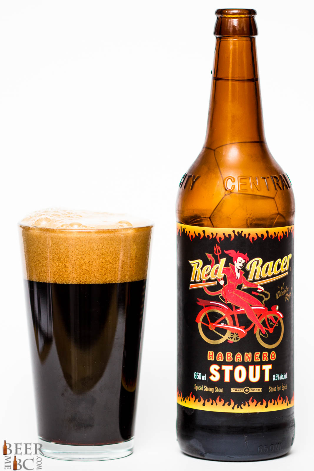 Central City Brewers Red Racer Habanero Stout Beer Me