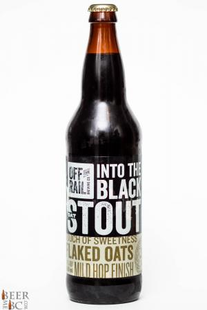 Off The Rail Brewing Into The Black Stout Review