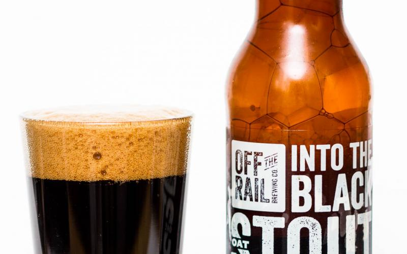 Off The Rail Brewing Co – Into The Black Oat Stout