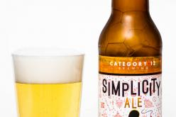 Category 12 Brewing – Simplicity Ale
