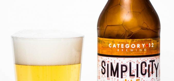 Category 12 Brewing – Simplicity Ale
