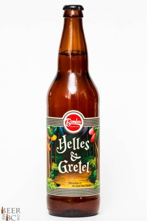 Bomber Brewing Helles & Gretel Lager Review