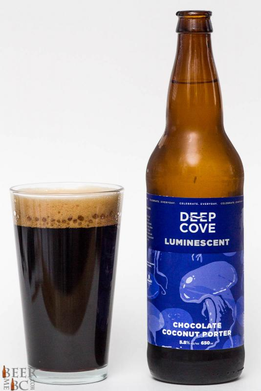 Deep Cove Brewers Luminescent Coconut Porter Review