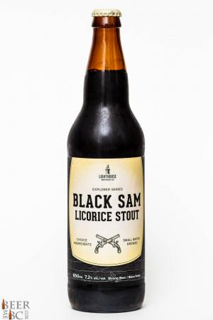 Lighthouse Brewing Co Black Sam Licorice Stout Review