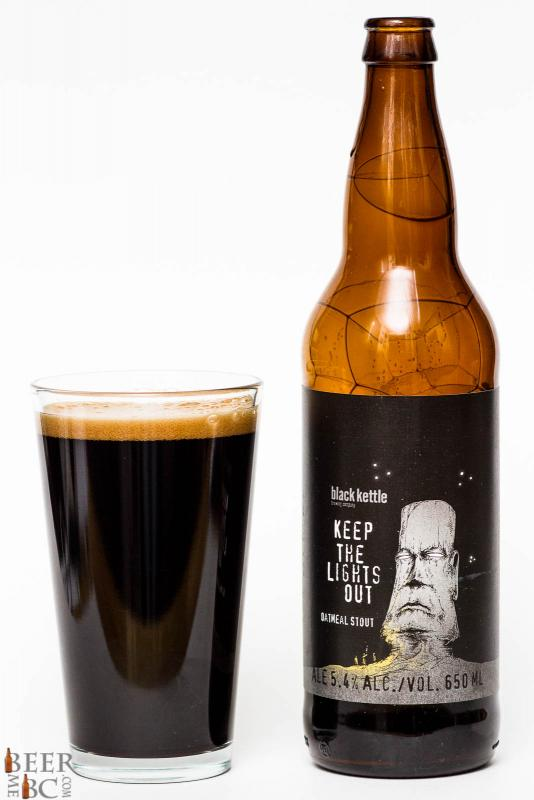 Black Kettle Brewing Keep The Lights Out Stout Review