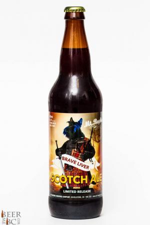Mt Begbie Brewing Co Brave Liver Scotch Ale Review