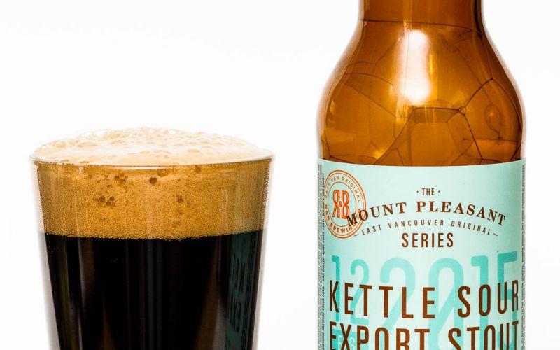 R&B Brewing Kettle Sour Export Stout