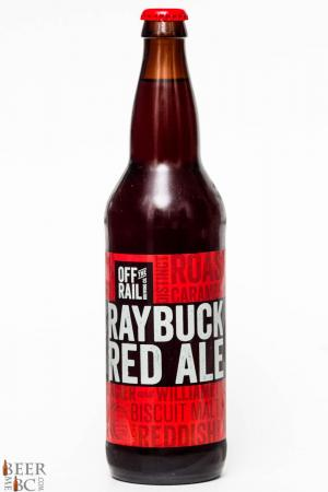 Off The Rail Brewing Raybuck Red Ale Review