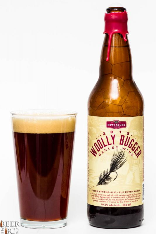 Howe Sound 2015 Wooly Bugger Barley Wine Review