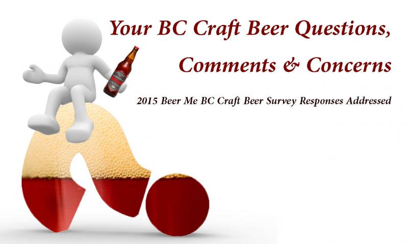 2015 BC Craft Beer Survey Respondent Questions