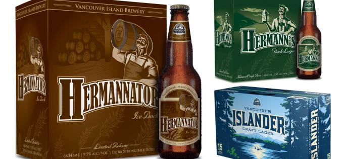 Vancouver Island Brewery's Hermannator, Herman's and Islander Win International Awards