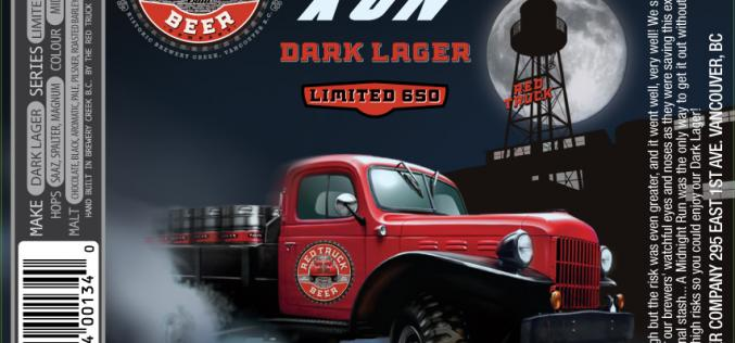 Red Truck Brewery Launches Midnight Run Dark Lager