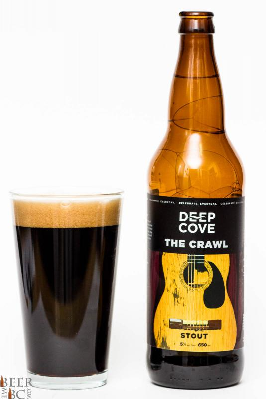 Deep Cove Brewers The Crawl Stout Review