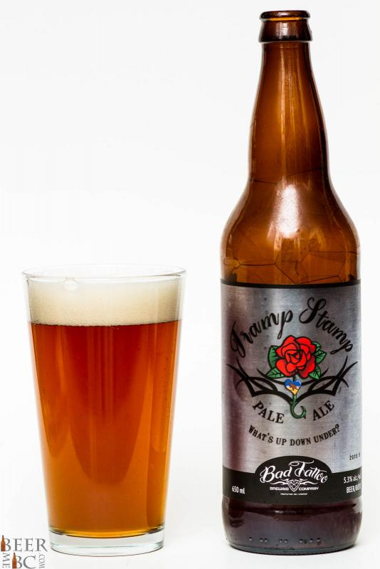 Bad Tattoo Brewing Tramp Stamp Pale Ale Review