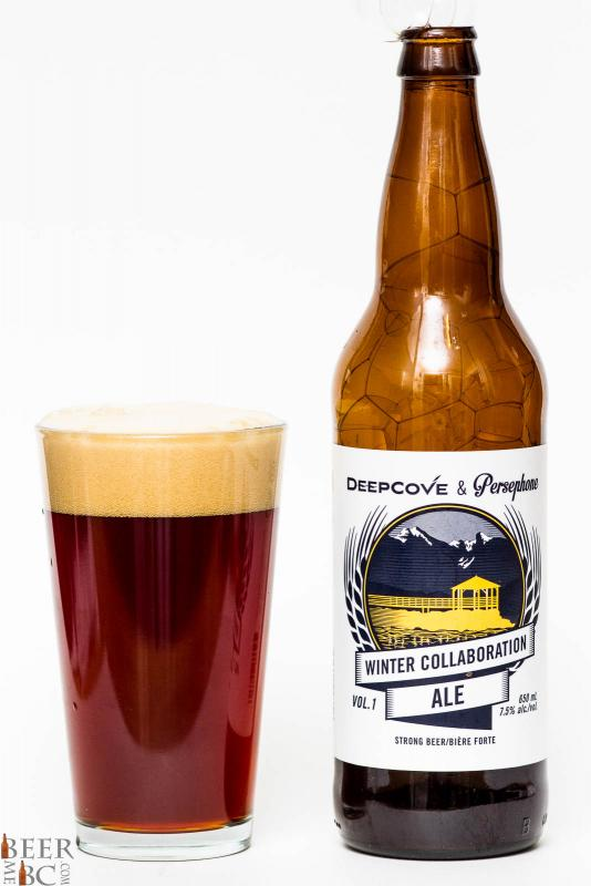 Deep Cove & Persephone Collaboration Winter Ale Review