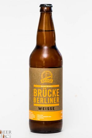 Bridge Brewing Brucke Berliner Weisse Review