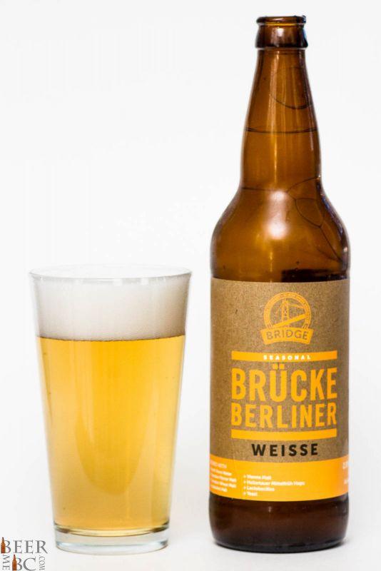 Bridge Brewing Brucke Berliner Weisse Review