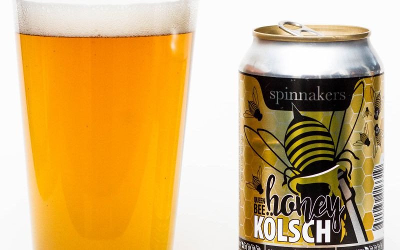Spinnaker's Brewery – Queen Bee Honey Kolsch