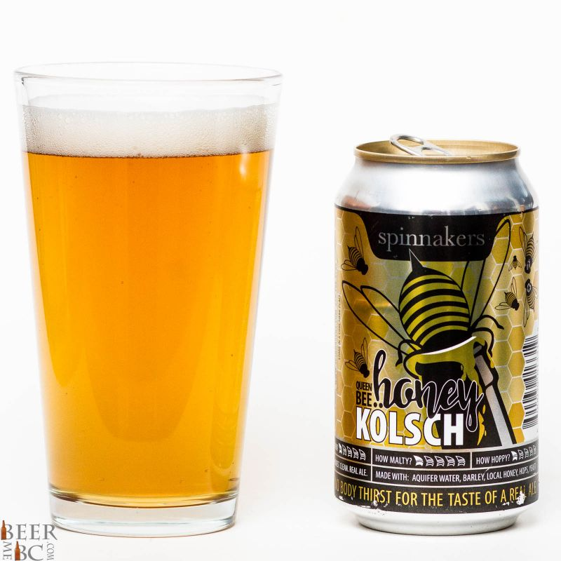 Spinnakers Brewery Killer Bee Honey Kolsch