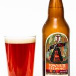 Townsite Brewing Lil Red 2.0 Sour Red Ale Reveiew