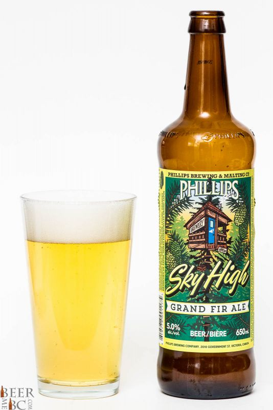 Phillips Brewing Sky High Grand Fir Ale Review