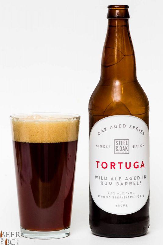 Steel & Oak Tortuga Rum Barrel Aged Wild Ale Review