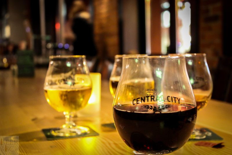 Central City Sour Release Beer Lineup
