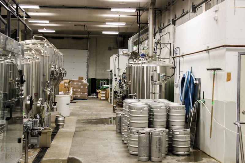 Dogwood Brewing Brewery Floor